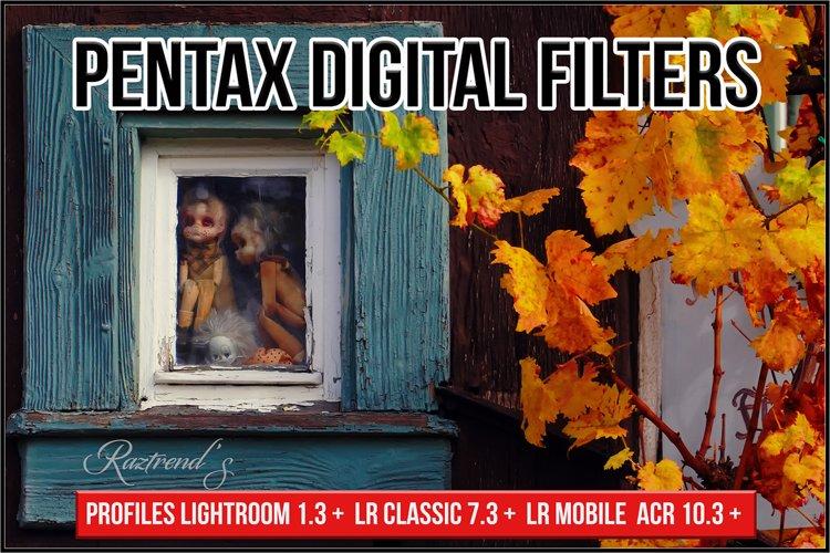 Pentax Digital Filters profiles Lightroom ACR