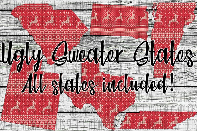 Ugly Sweater State Bundle example image 1