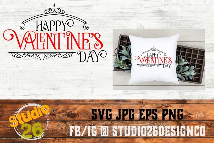 Happy Valentine's Day - SVG PNG EPS example