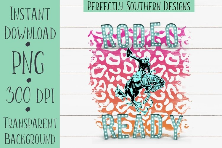 Rodeo Ready Pink and Orange - Sublimation Design