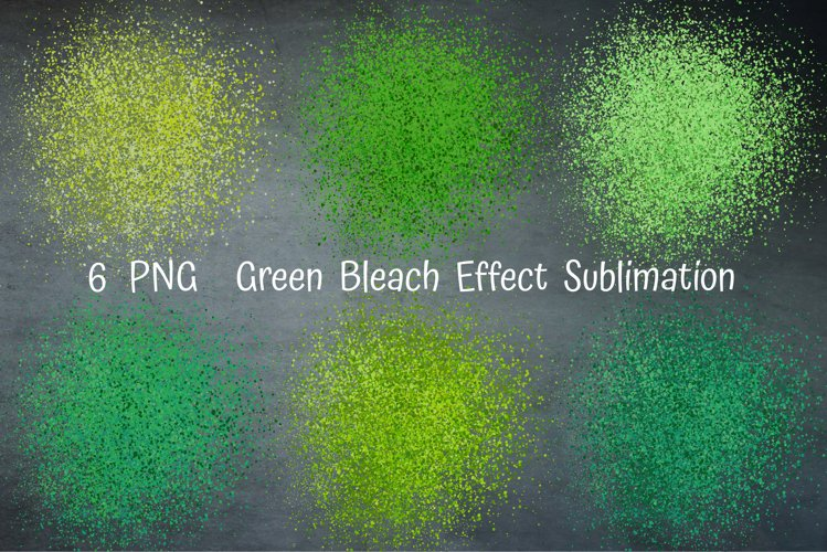 Green Bleach Effect Sublimation. Sublimation Patches