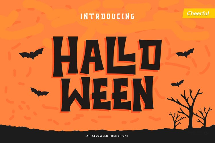 Halloween - Spooky Font example image 1