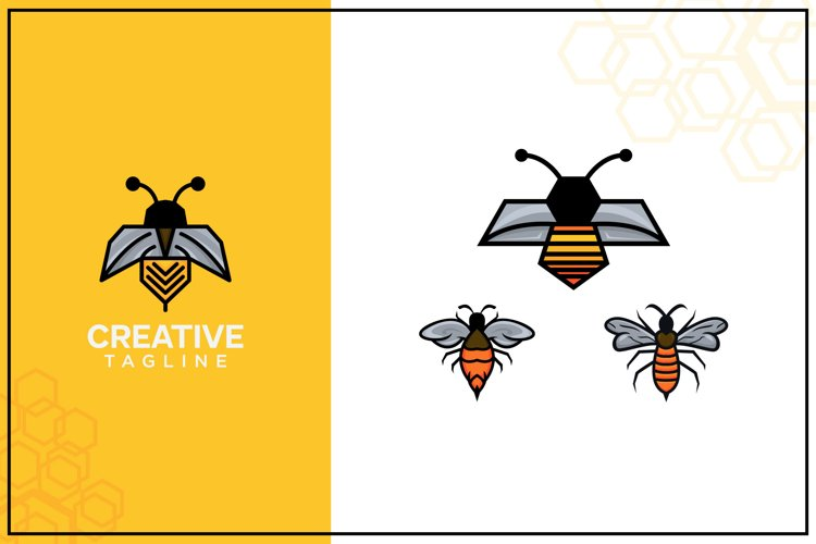 Bee logo example image 1