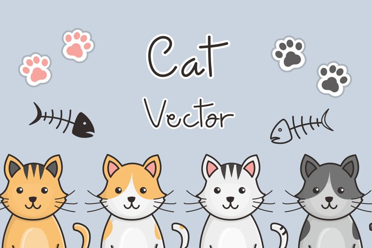 Cat Vector Illustration example