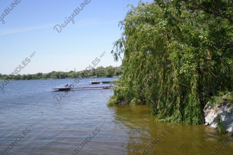 Beach ukrainian Dnieper River. Summer2012 example image 1
