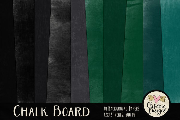 Chalkboard Texture Background Papers example image 1