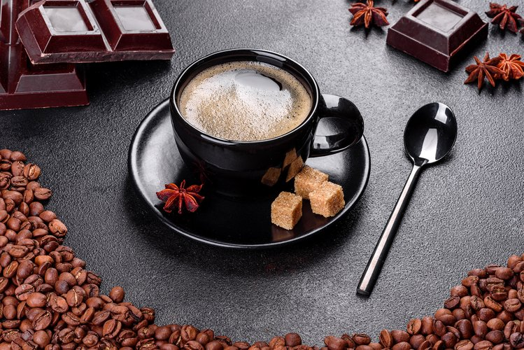 A cup of fresh scented morning coffee. 9 photos