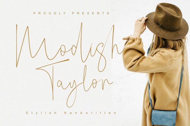 Modish Taylor example image 1