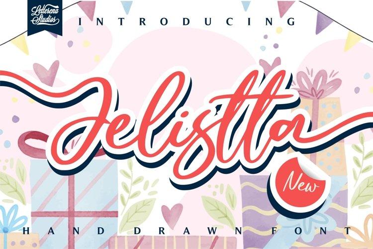 Jelistta - Beautiful Signature Font example image 1