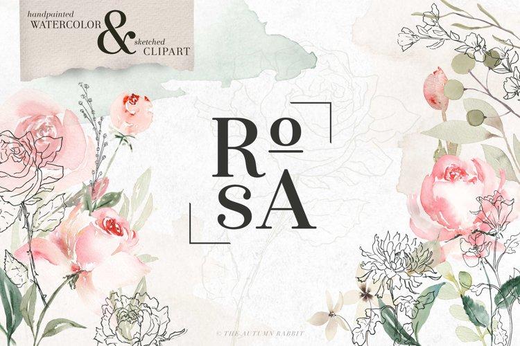 RoSA - Floral Clipart Set