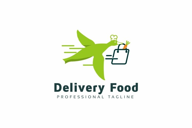 Delivery Food Logo example image 1