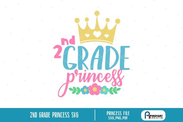 princess svg, princess svg file, 2nd grade princess svg
