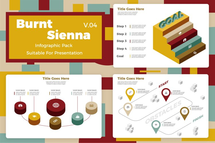 Burnt Sienna v4 - Infographic example image 1