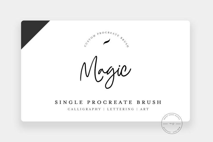 Magic | Single Procreate Brush, Illustration Brush