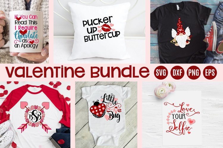 Valentines Day Bundle SVG DFX PNG EPS JPEG Comm