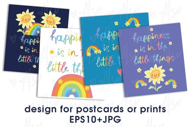Fun Sunflower postcard and Patterns