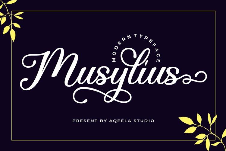 Musylius example image 1