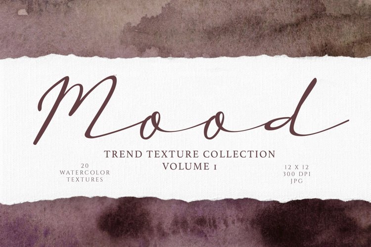 Dark and Moody Watercolor Textures