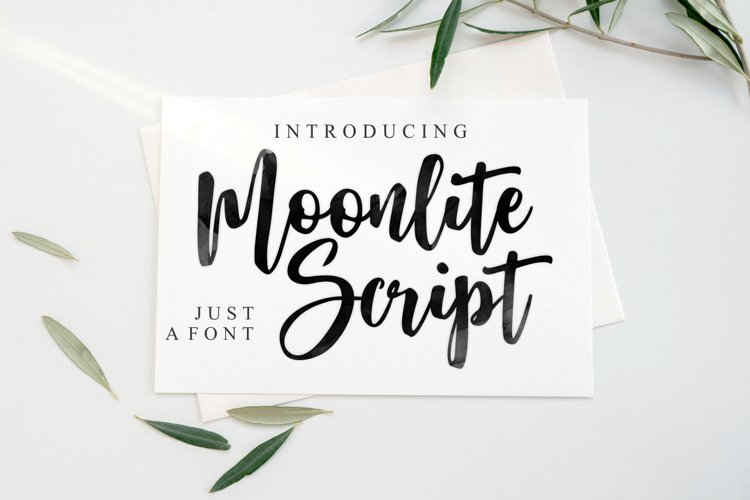 Moonlite Script example image 1