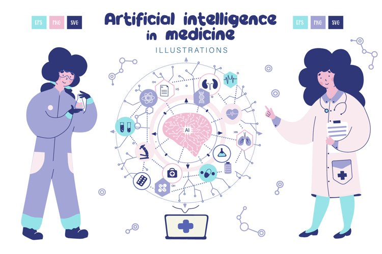Artificial intelligence in medicine example image 1