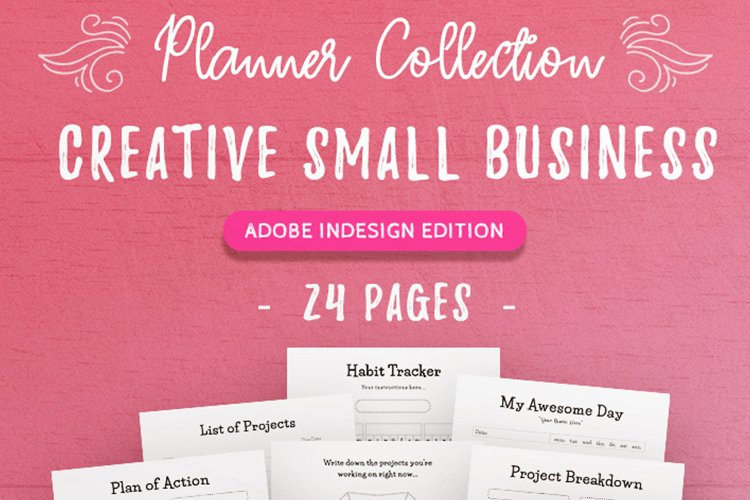 Creative Small Business InDesign Template Collection