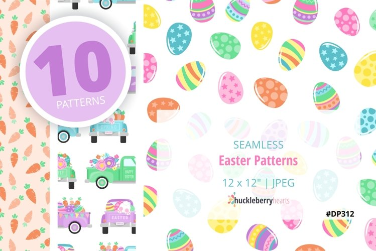 Seamless Easter Patterns
