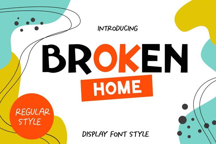 Broken Home example image 1