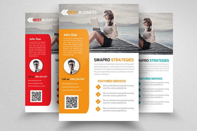 Business Solution Consultant Flyer example image 1