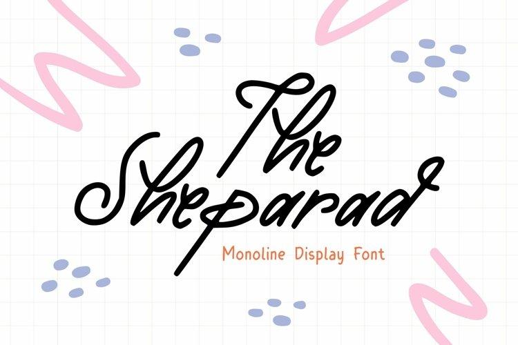 Web Font Sheparad Font example image 1