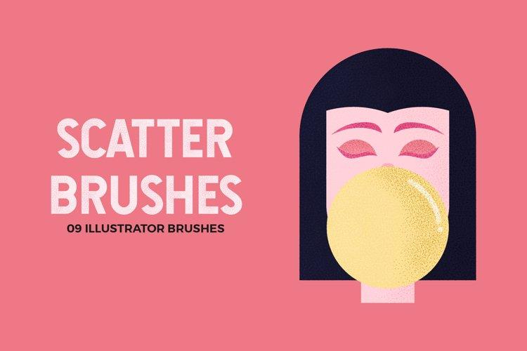 Scatter Brushes for Illustrator
