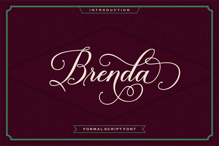Brenda Script example image 1