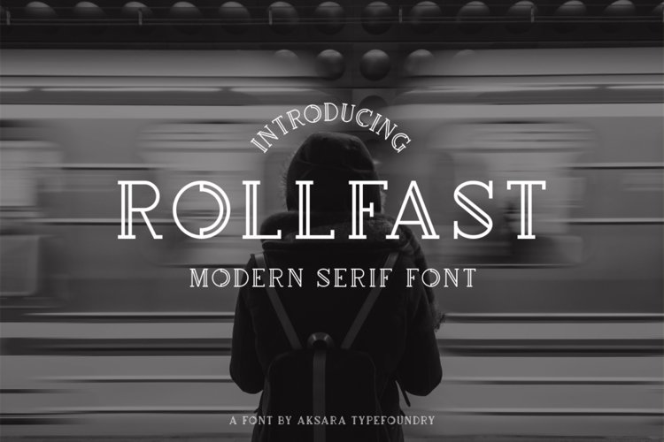 Rollfast Font example image 1