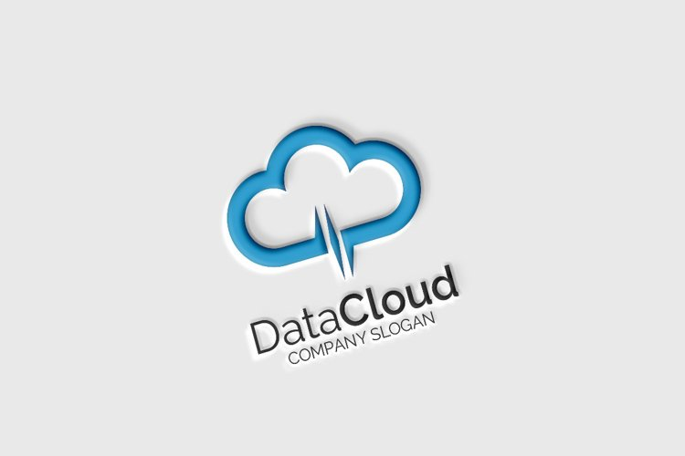 Data Cloud - Logo Template