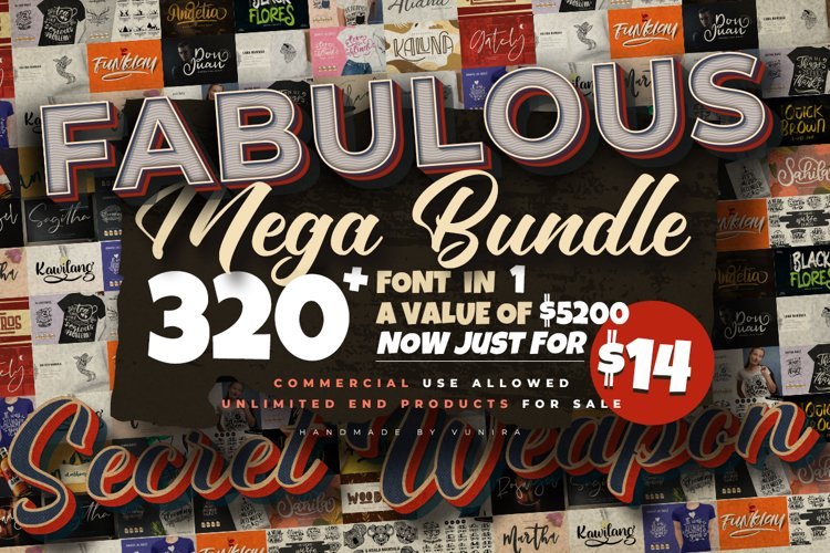 The Fabulous 320 Mega Bundle