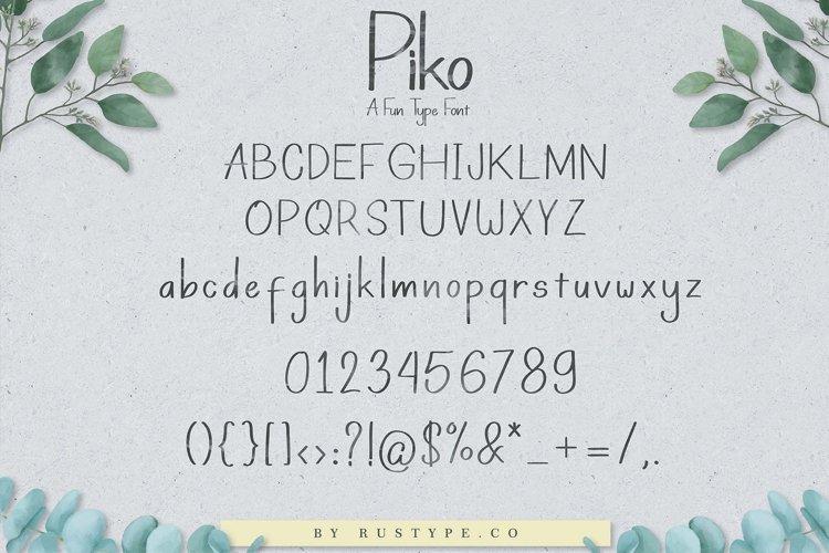 Piko  example 2
