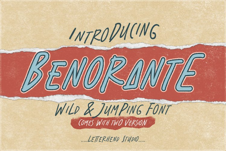 Benorante - Display Font example image 1
