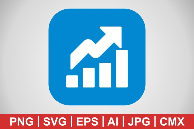 Vector Growth Icon example image 1