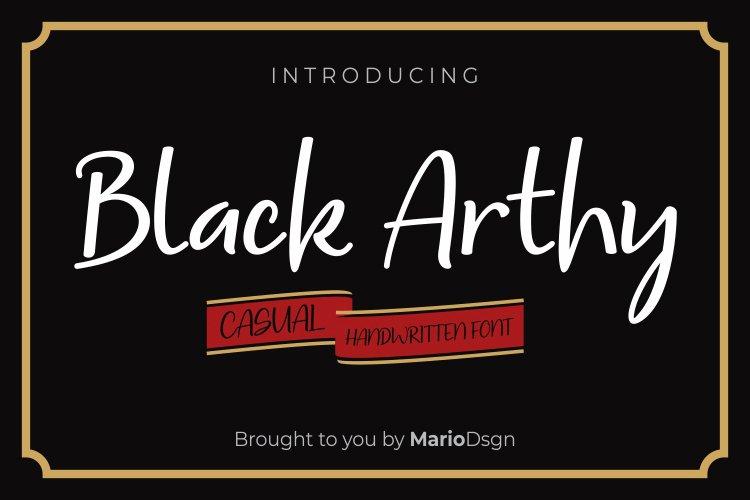 Black Arthy example image 1
