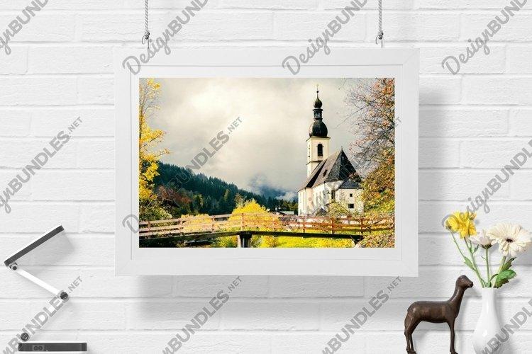 Old Church - Wall Art - Digital Print example image 1