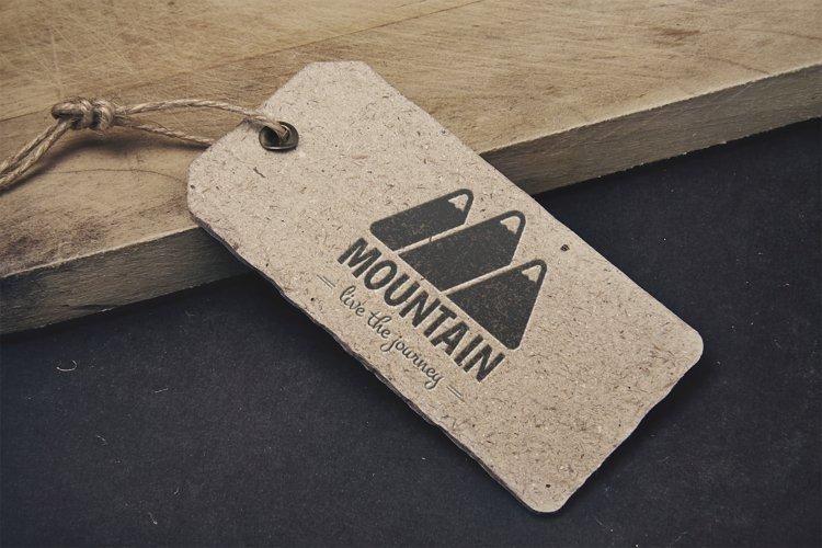 Mountain Logo Template example 4