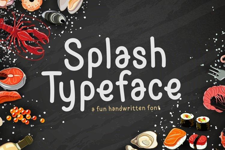 Web Font Splash example image 1