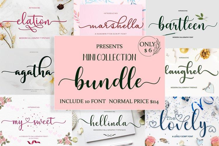 Mini Bundles 10 font only $5