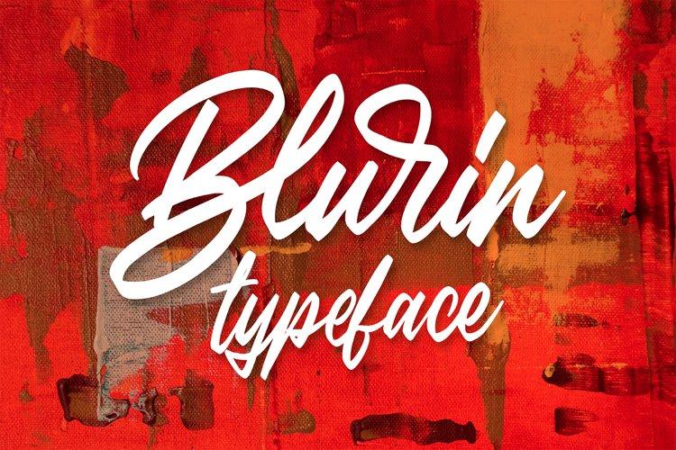 Blurin Script example image 1