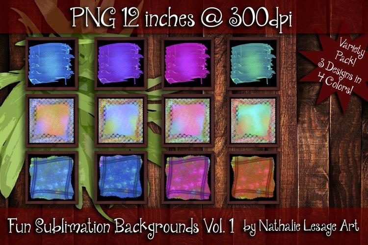Fun Sublimation Backgrounds Vol 1 Colorful Backsplash Images