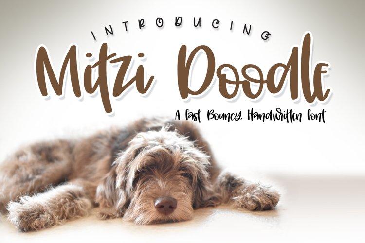 Mitzi Doodle Font