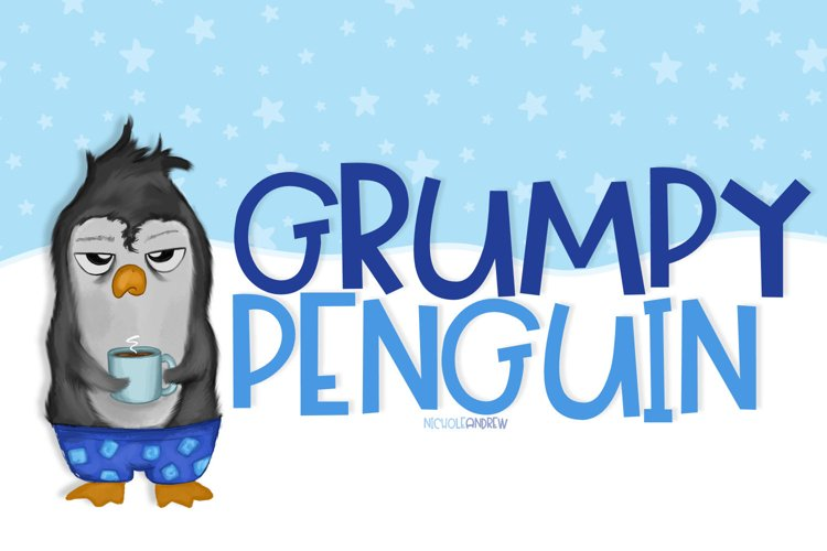 Grumpy Penguin example image 1