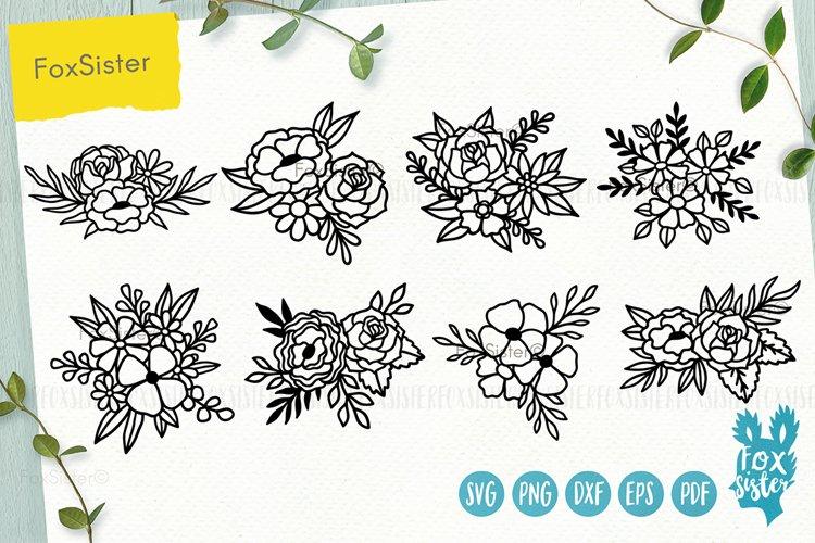 Flowers SVG Bundle, Floral svg example image 1