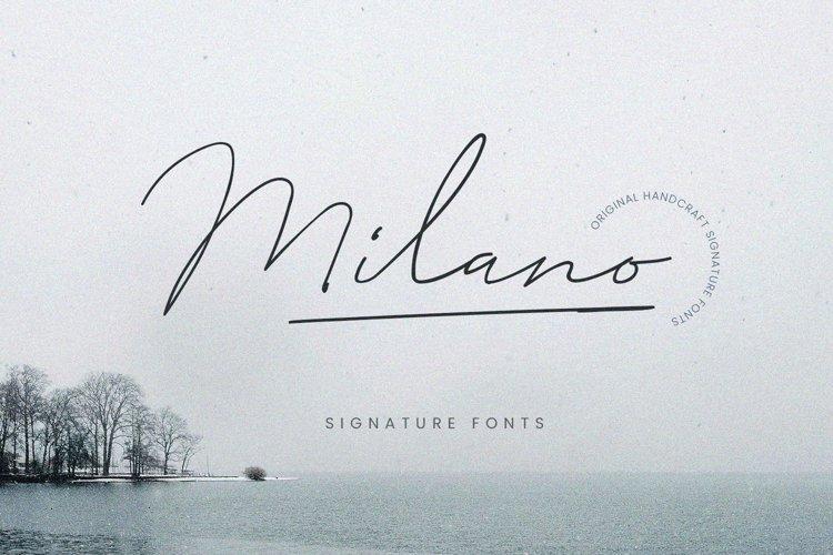 Milano Signature Script