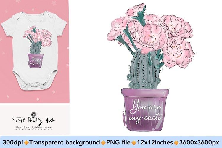 Cactus Sublimation Design PNG, Valentines Day Bundle