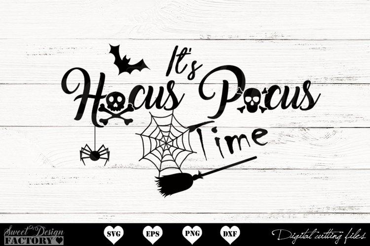 Hocus pocus time SVG